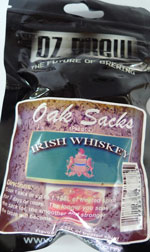 Irish Whisky Chips  –  Makes 2.25 lt