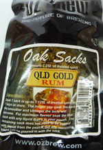 Qld Gold Rum Chips  –  Makes 13.5lt