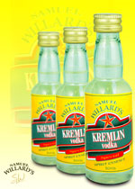 Gold Star Kremlin Vodka  –  Makes 2.25lt