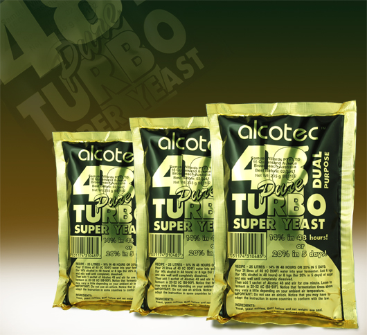 Turbo Yeast Alcotec 48