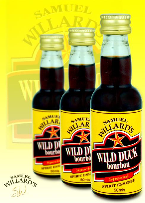 Gold Star Wild Duck Bourbon  –  Makes 2.25lt