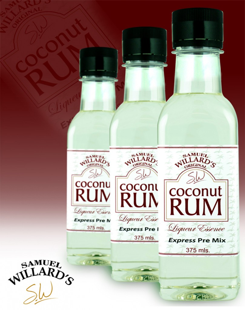 Pre Mixed Liqueur Coconut Rum  –  Makes 1.125lt