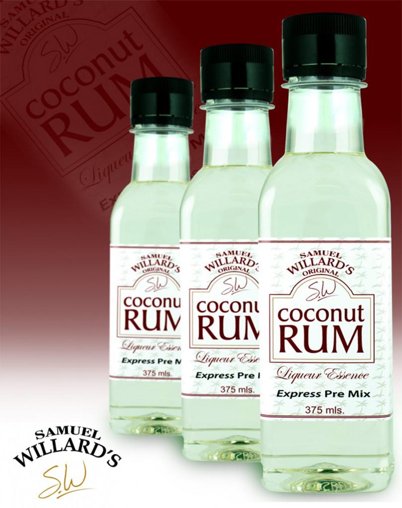 Pre Mixed Liqueur Coconut Rum  –  Makes 1.125lt