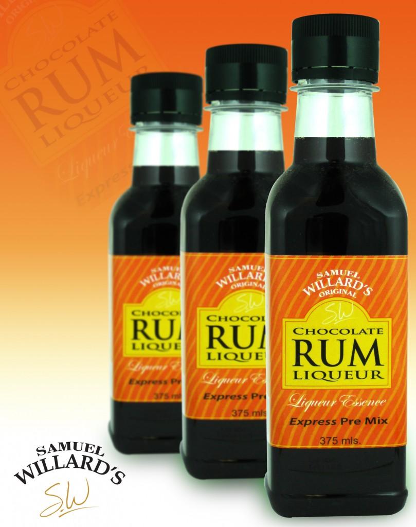 Pre Mixed Liqueur Chocolate Rum  –  Makes 1.125lt