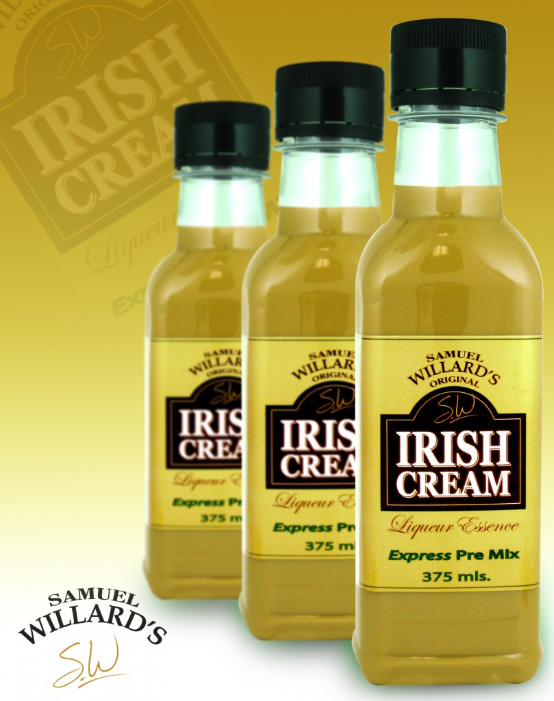Pre Mixed Liqueur Irish Cream  –  Makes 1.125lt