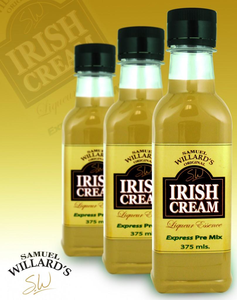 Pre Mixed Liqueur Irish Cream  –  Makes 1.125lt