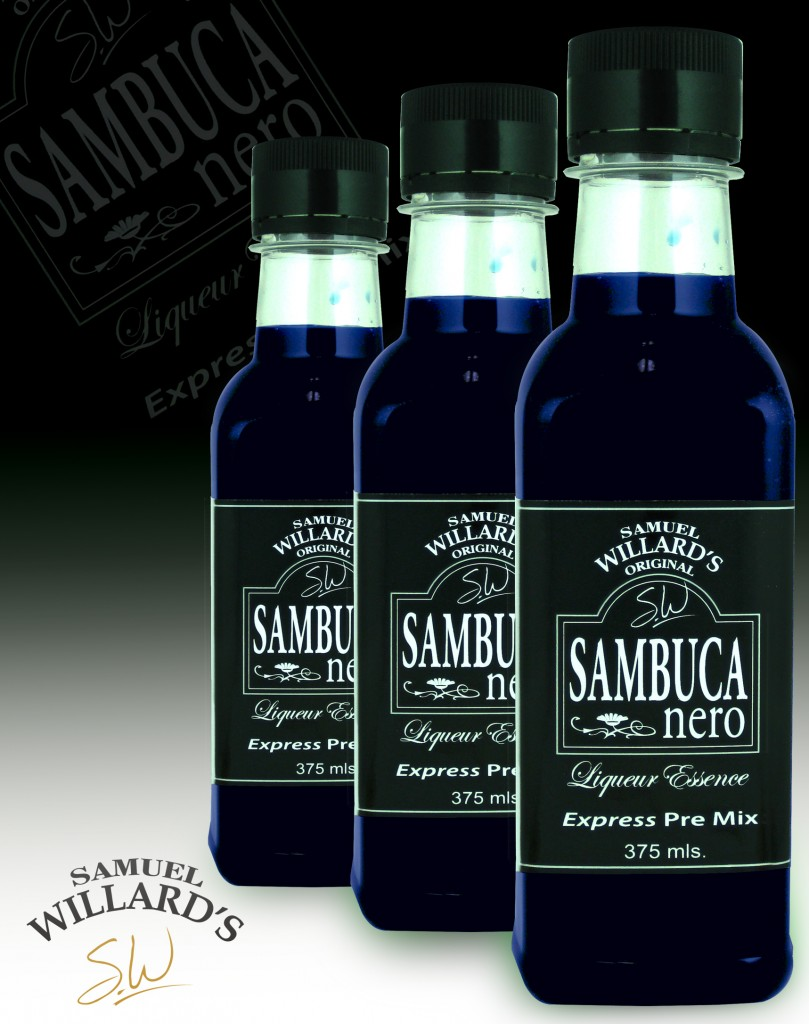 Pre Mixed Liqueur Sambuca nero  –  Makes 1.125lt