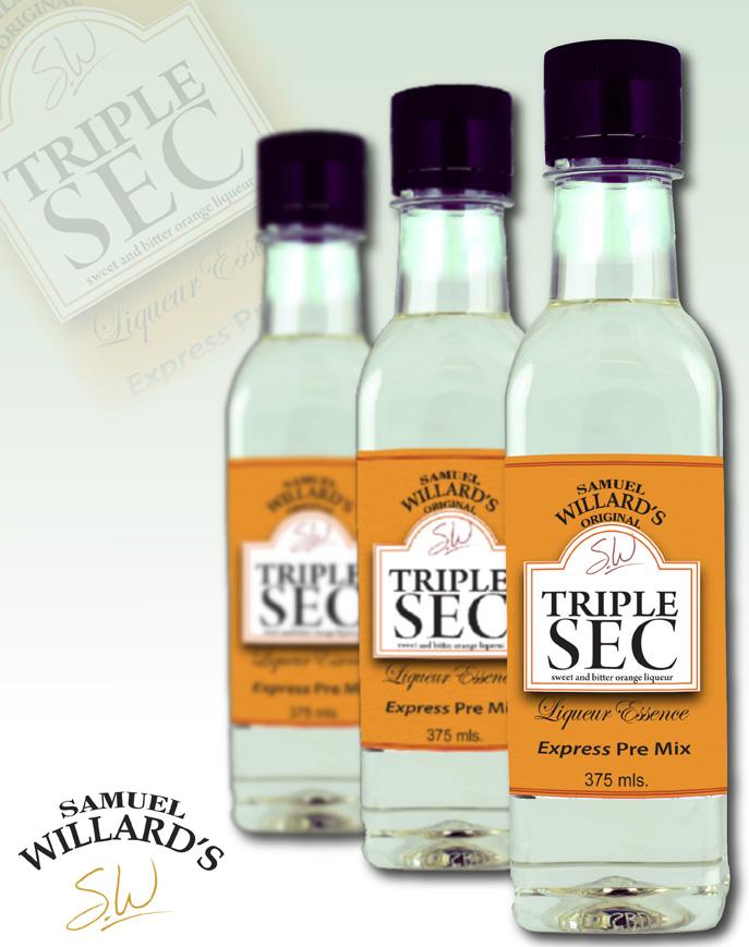 Pre Mixed Liqueur Triple Sec  –  Makes 1.125lt