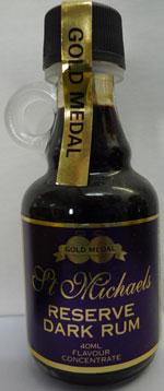 St Michaels Reserve Dark Rum  –  Makes 2.25lt