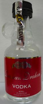 Russian Drakon Vodka  –  Makes 2.25lt
