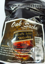 Black John Whisky Chips  –  Makes 13.5lt
