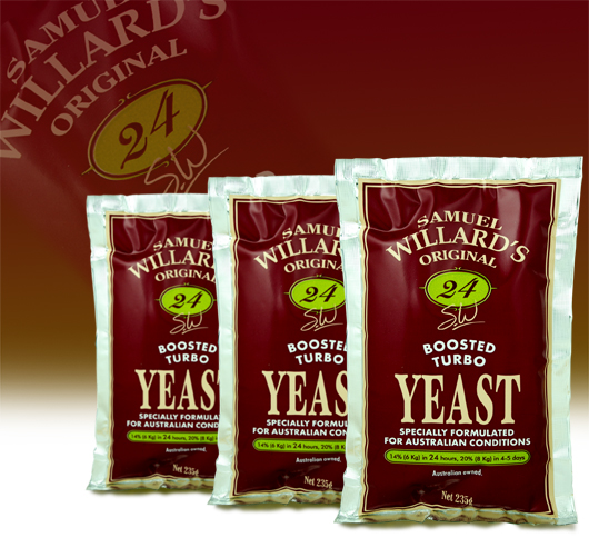 Turbo Yeast Samuel Willards 24