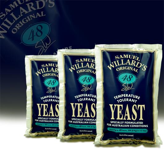 Turbo Yeast Samuel Willards 48