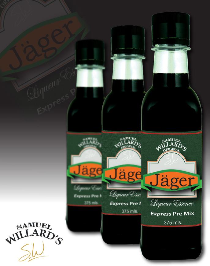 Pre Mixed Liqueur Jager  –  Makes 1.125lt