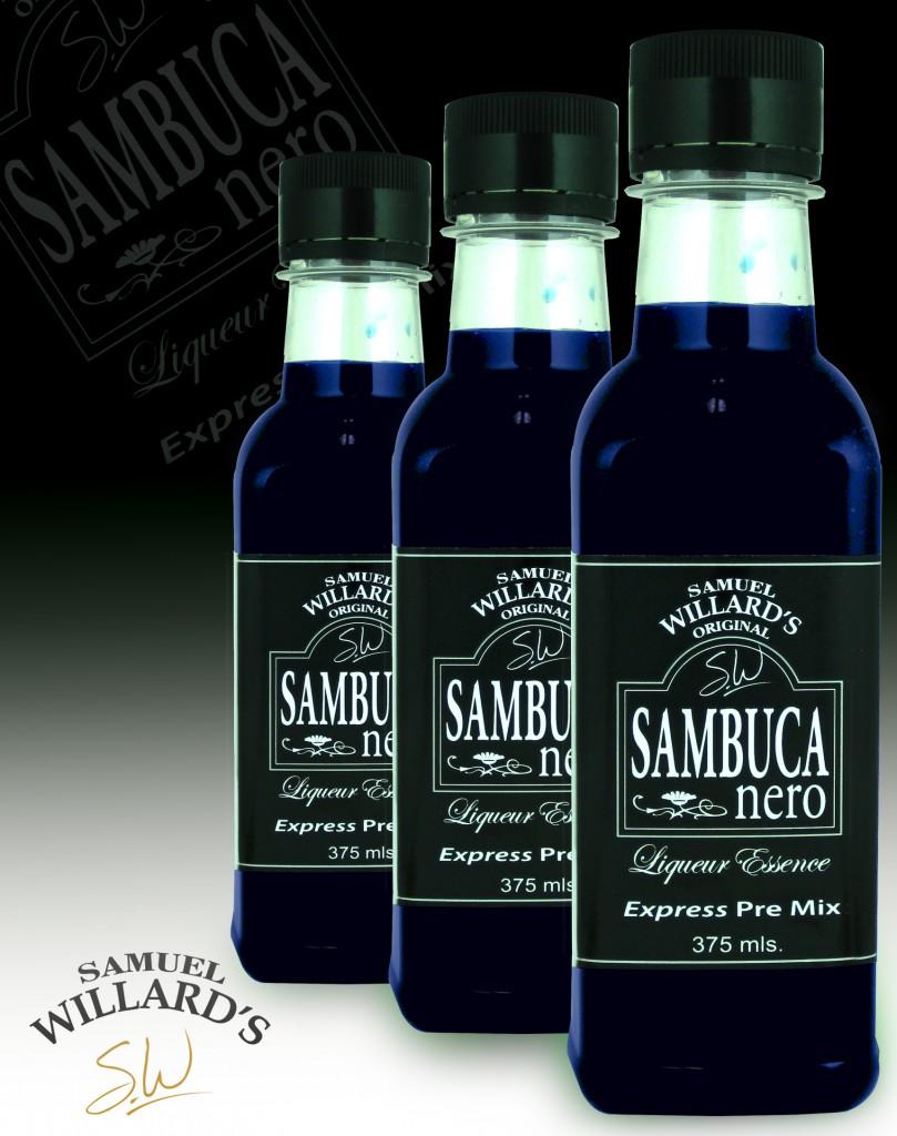 Pre Mixed Liqueur Sambuca nero  –  Makes 1.125lt